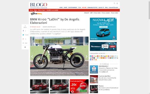 MOTOBLOG: BMW K1100 - LaDini-