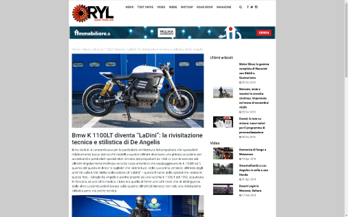 OTTONERO: BMW K1100 - LaDini -