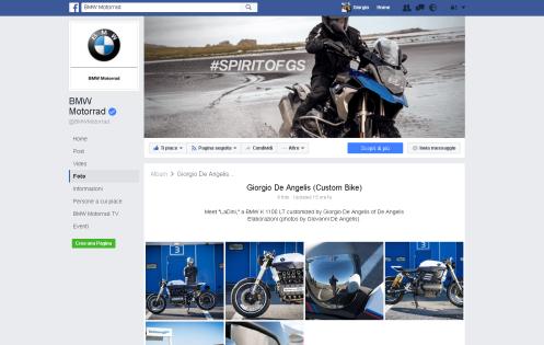 BMW Motorrad - Profilo ufficiale Facebook: BMW K1100 - LaDini -
