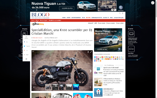 MOTOBLOG: BMW K100 - SpecialEdition -